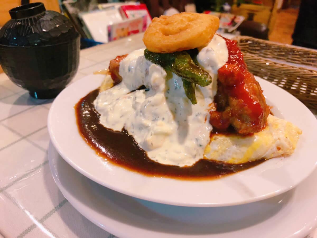 洋食 Moguのメニュー「オム南蛮」写真